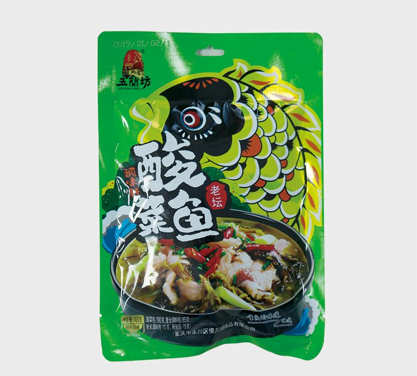 酸菜鱼调料(4料包)