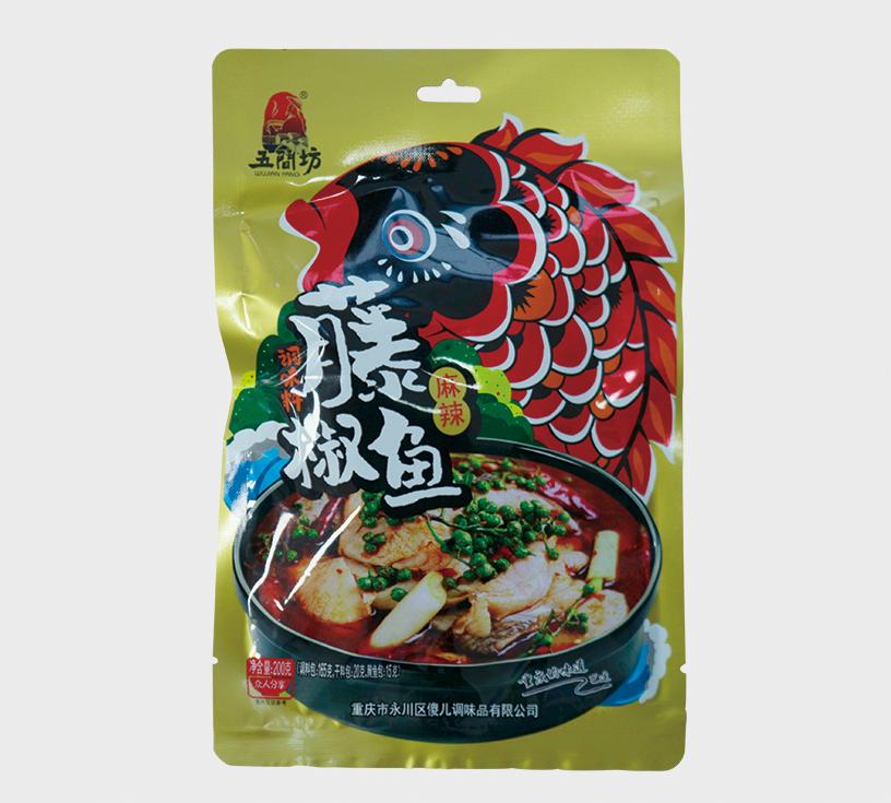 藤椒鱼调料(3料包)